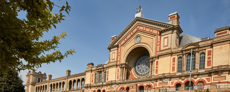 Alexandra Palace building closeup