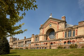 Alexandra Palace building closeup