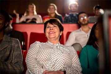 Woman at Cinema